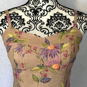Positive Attitude Linen Dress
